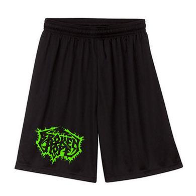 Broken Hope Logo Mesh Gym Shorts