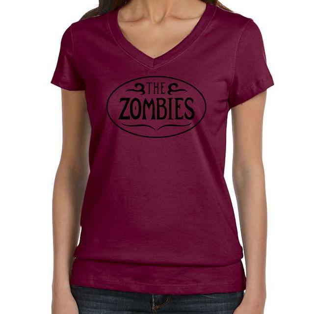 The Zombies Ladies Maroon V-Neck