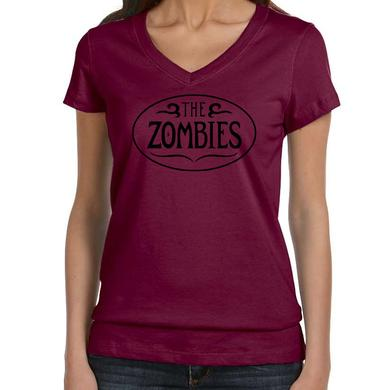 The Zombies Ladies Maroon V-Neck