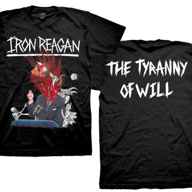 Iron Reagan Tyranny Album Cover T-Shirt