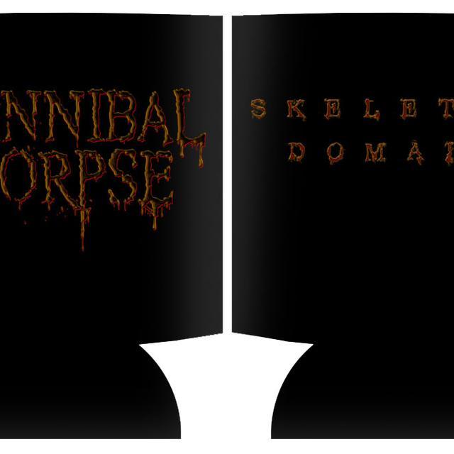 Cannibal Corpse Skeletal Logo Koozie