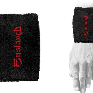 Enslaved Red Logo Wristbands