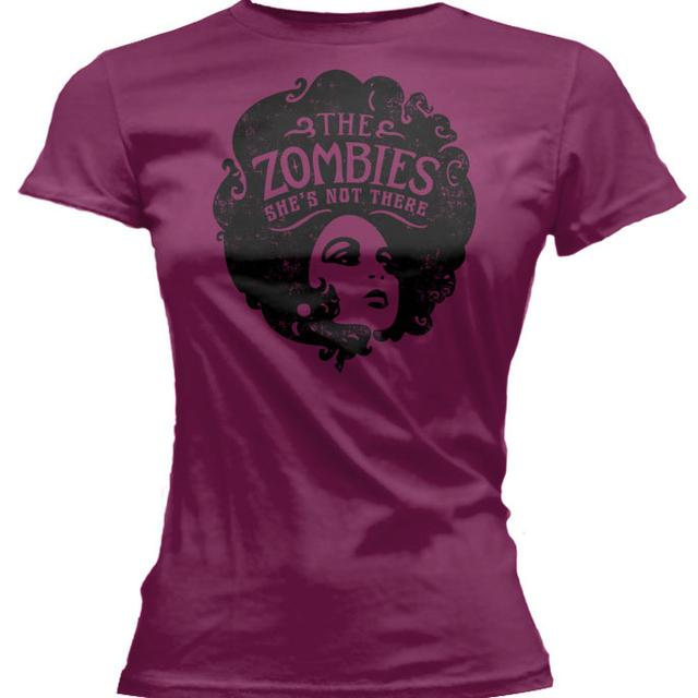 The Zombies She's Not There Berry Ladies tee