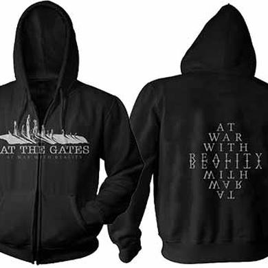At The Gates At War Zip Hoodie