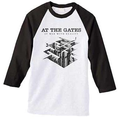 At The Gates Heroes & Tombs Black and White Long Sleeve Shirt