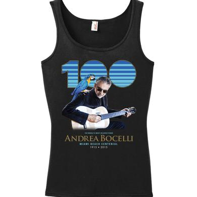 Andrea Bocelli Miami Beach 2015 Ladies Tank