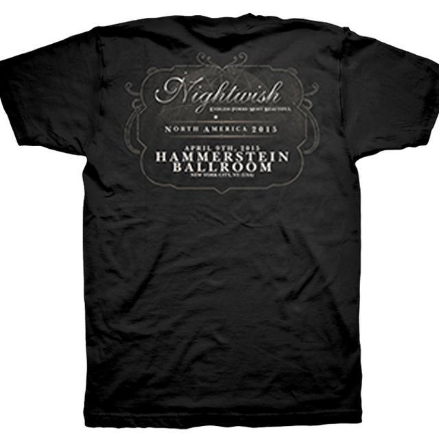 Nightwish Endless Forms Most Beautiful Tour Hammerstein T-Shirt