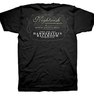 Nightwish Endless Forms Most Beautiful Tour Hammerstein T-Shirt