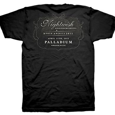 Nightwish Endless Forms Most Beautiful Tour Palladium T-Shirt