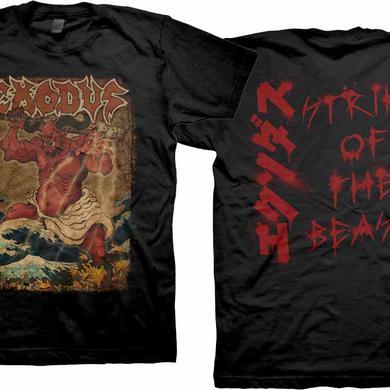 Exodus Oni Strike of the Beast T-Shirts