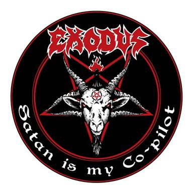 Exodus Satan is My Co-Pilot Air Freshener