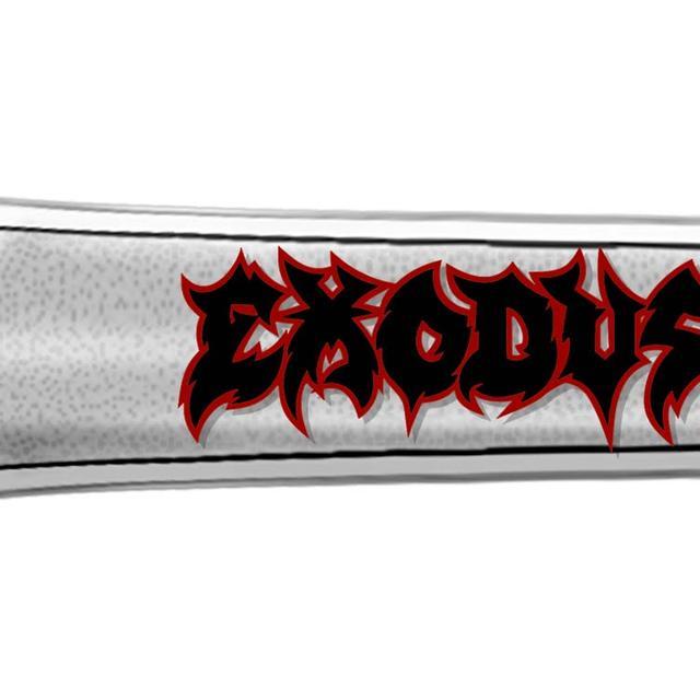 Exodus Logo Metal Bottle Opener