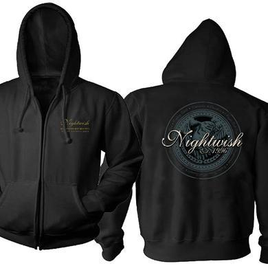 Nightwish Logo Owl Zip Hoodie