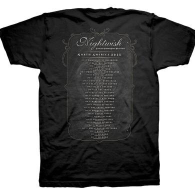 Nightwish Endless Forms Tour Dates Tshirt