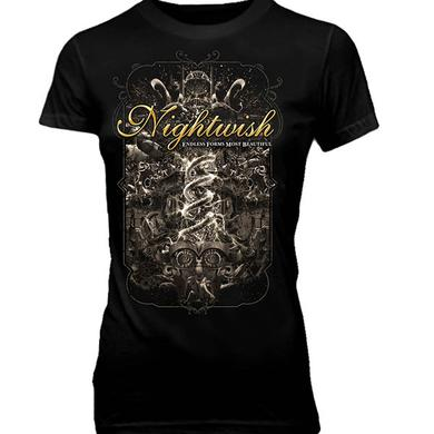 Nightwish Endless Forms Tour  Ladies Tee