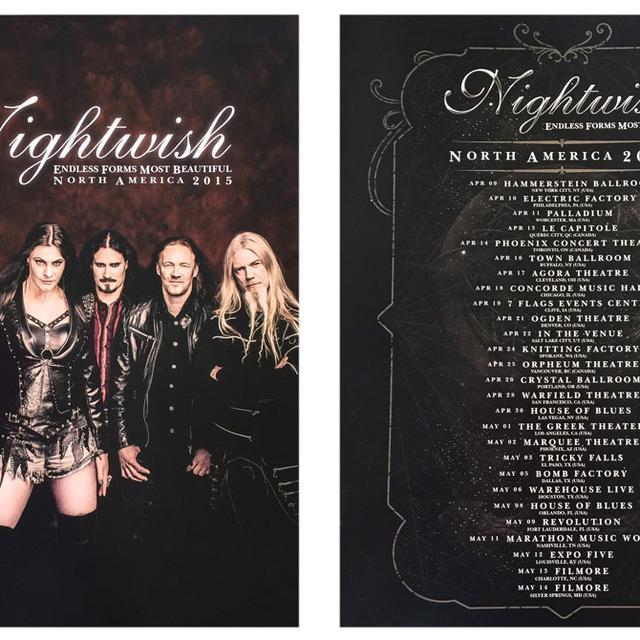 Nightwish North American Tour Program