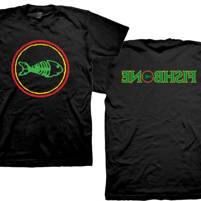 Fishbone Classic Logo Backwards Name T-Shirt