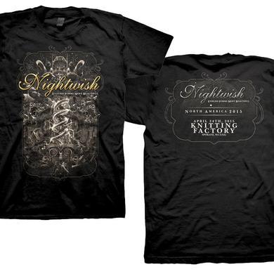 Nightwish April 24th Knitting Factory - Spokane WA