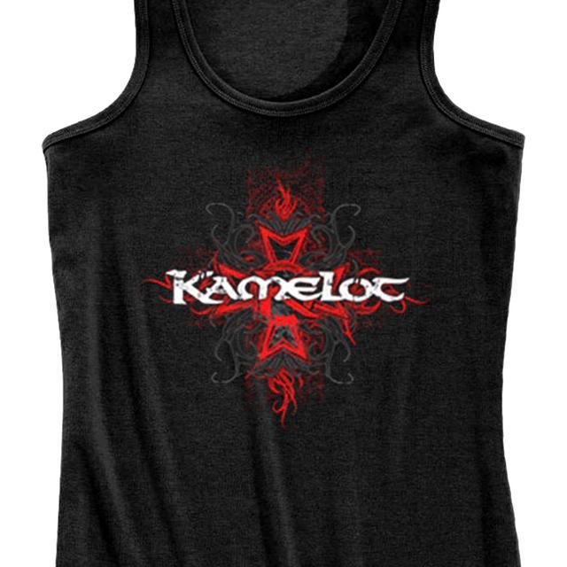 Kamelot Cross Tribal Ribbed Ladies Tank