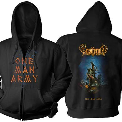 Ensiferum One Man Army Zip Hoodie