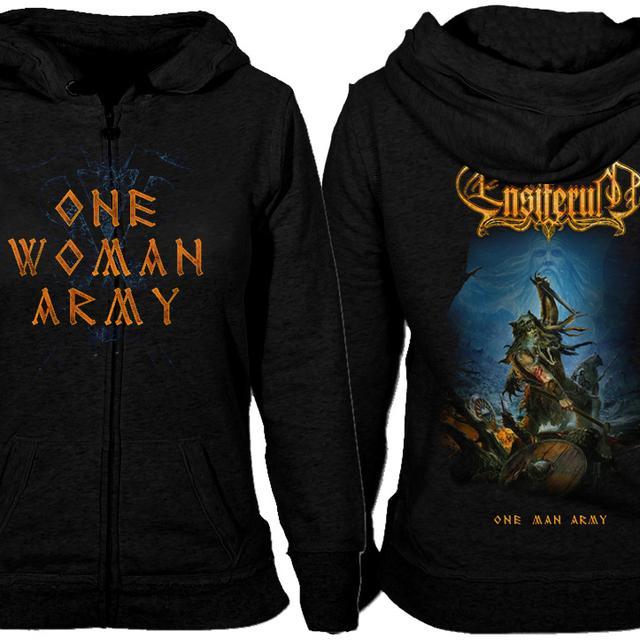 Ensiferum One Woman Army Zip Hoodie
