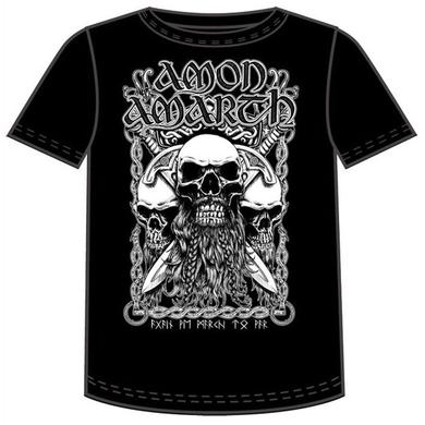 Amon Amarth Bearded Skull T-Shirt
