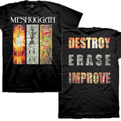 MESHUGGAH Destroy Erase Improve T-shirt