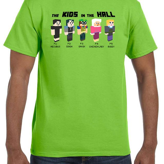 Kids in the Hall KITH Green Avatar Tee