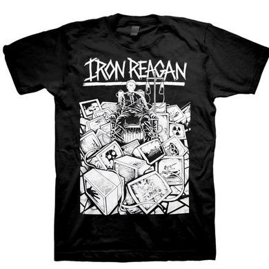 Iron Reagan TV Hook Up T-Shirt