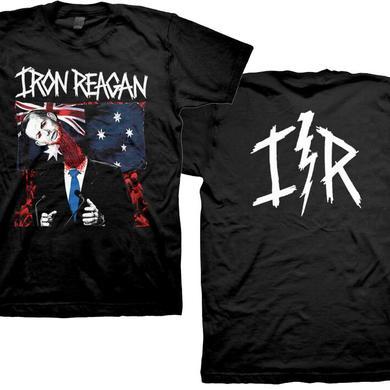 Iron Reagan Australian Flag T-Shirt