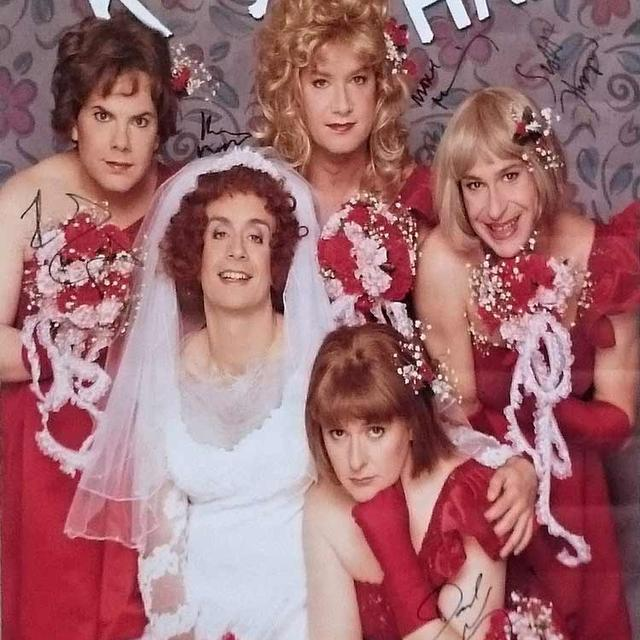 Kids in the Hall KITH Autographed Bridesmaid Poster
