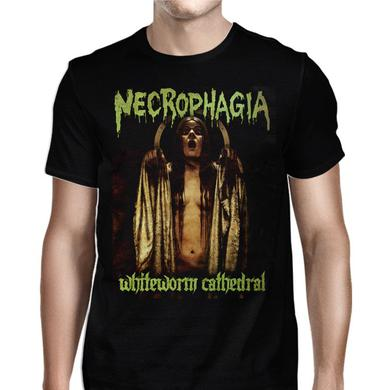 Necrophagia White Worm Cathedral T-Shirt