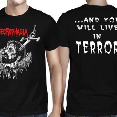 Necrophagia Anchor Terror T-Shirt