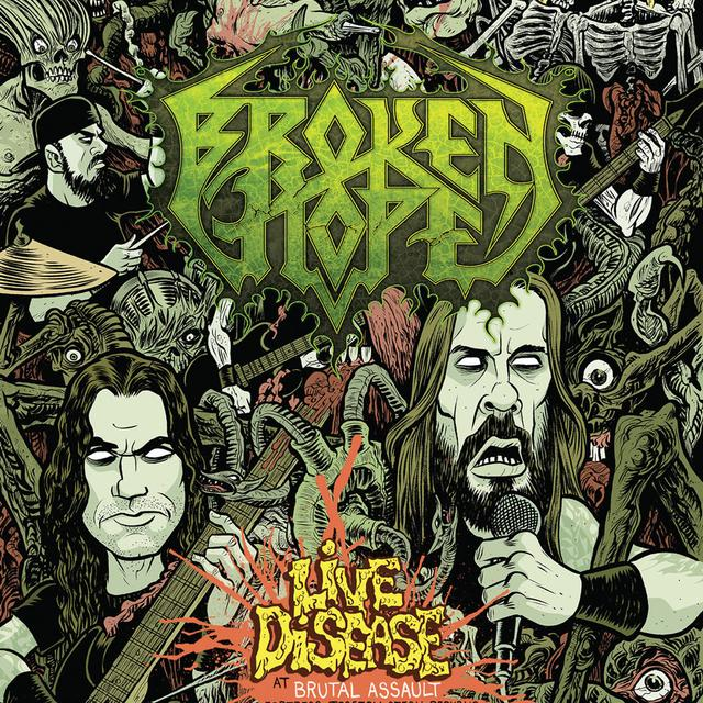 Broken Hope Live Disease at Brutal Assault CD/Blu-ray Combo