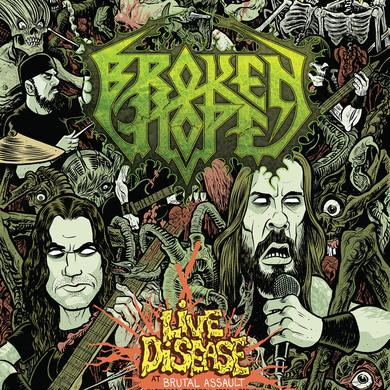 Broken Hope Live Disease at Brutal Assault CD/Blu-ray Combo