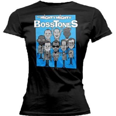 Mighty Mighty Bosstones Band Cartoon Ladies Tee