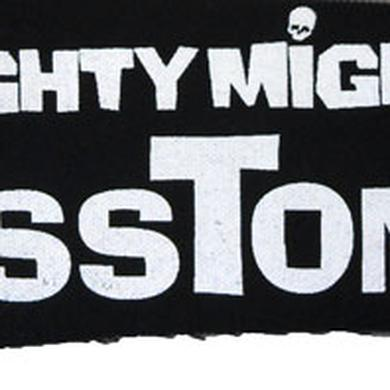 Mighty Mighty Bosstones White Logo Black 3x10 Patch