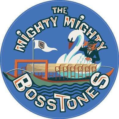 Mighty Mighty Bosstones SWAN BOAT 4in STICKER