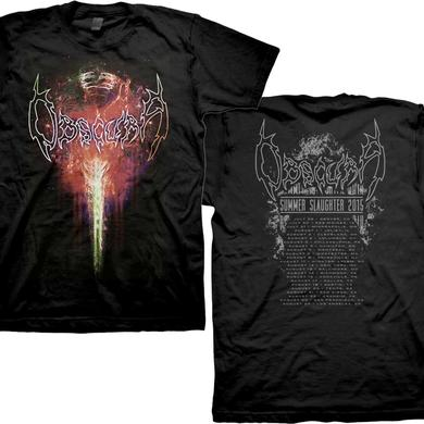 Obscura Summer Slaughter 2015 T-shirt