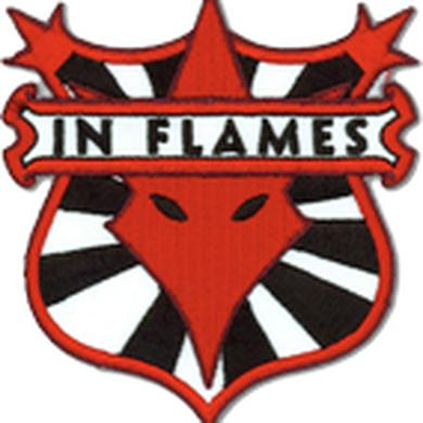 In Flames Shield Patch