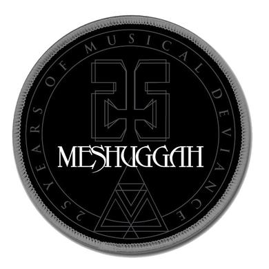 MESHUGGAH 25TH Anniversary Seal Patch