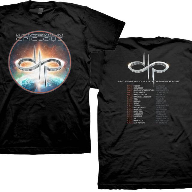 Devin Townsend Project Epic Cloud 2012 Tour T-Shirt