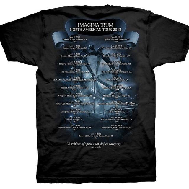 Nightwish Imaginaerum Tour Dates 2013 Tee