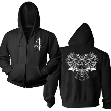Insomnium Coat Of Arms Zip Hoodie