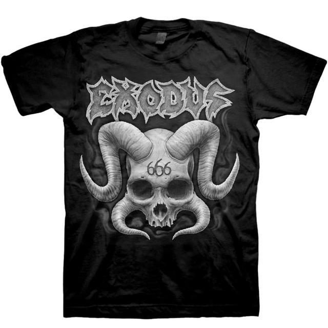 Exodus Horned Skull T-Shirt