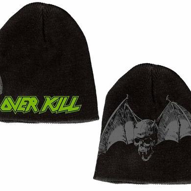 Overkill Logo Bat Beanie
