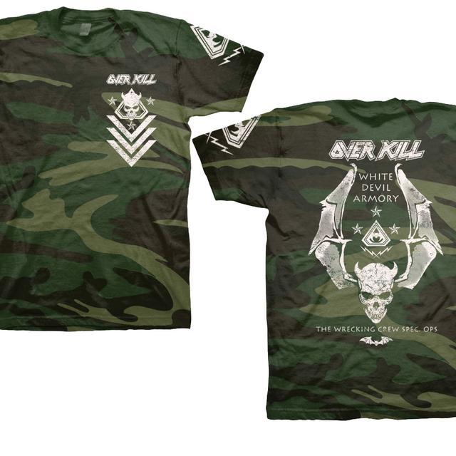 Overkill White Devil Spec Ops Camo T-Shirt