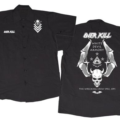 Overkill Logo Badge Skull Workshirt