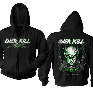 Overkill White Devil Zip Hoodie