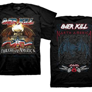 Overkill Minneapolis 2015 T-Shirt